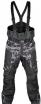 A07785 (Черный, XXL), Снегоходные штаны Taiga, черные.