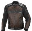 A08518-083-3XL, Мотокуртка кожаная Compass черно-коричневая, размер 3XL