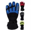 A07335 (черный/синий, XS), Зимние перчатки AGVSPORT Kapay, размер XS, цвет черный