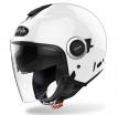 HE1 (белый, S), Шлем открытый Airoh HELIOS, глянец, размер S, цвет белый