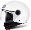 CPP14-XS, Открытый шлем Compact Pro белый глянцевый, размер XS