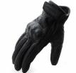A07315-003-L, Кожаные перчатки Classic, черные, перфорация., размер L