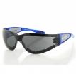 ESH211, Очки Shield 2 голубые с дымчатыми линзами