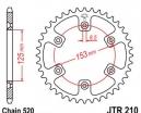 210.38, Звезда задняя (ведомая) jtr210 для мотоцикла стальная
