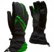 M01313 (Черный/Зелёный, M), Зимние перчатки СНЕЖОК