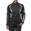 M01502 (Черный/Зелёный, XXS), Текстильная женская куртка ROXY светится в темноте
