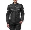 M01505 (Черный/Серый, XXS), Текстильная женская куртка ASTRA черно-серая