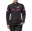 M01505 (Черный/Розовый, S), Текстильная женская куртка ASTRA черно-розовая