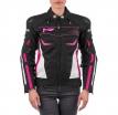 M01532 (черный/розовый, XXS), Куртка текстильная  MOTEQ BONNIE, женский, размер XXS, цвет черный