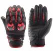 M02301 (Черный/Красный, XS), Кожаные перчатки Stinger красные