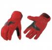 M02306 (Красный/Чёрный, S), Туристические кожаные перчатки Venus красные