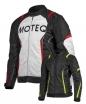 M02523 (черный/белый, S), Куртка текстильная  MOTEQ Spike, мужской(ие), размер S, цвет черный