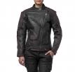 M08517 (черный/коричневый, XXS), Куртка женская Teacher WAX, кожа-вокс
