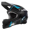 0627-4 (синий/черный, S), Шлем кроссовый O'NEAL 3Series VISION, размер S, цвет синий