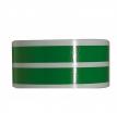 319-904, Наклейка на колесный диск зеленый KAWASAKI, цвет Зеленый