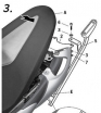 S0GL69ST, Крепление для верхнего кофра shad на suzuki sfv 650 gladius (09-14)