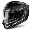 ST7SF38-S, Шлем интеграл St 701 черный карбоновый, размер S