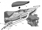 s0sv13st, Крепление для верхнего кофра shad на suzuki sv1000s (03-06)