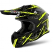 TOVCA31-M, Шлем кроссовый Terminator Open Vision Carnage желтый, размер M, цвет черно-желтый