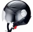 X10008-003 (Термопластик, глянец, Черный, M), Открытый шлем детский HX 109 Kid черный, размер M, цвет черный