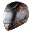 X14050-369-XL, Шлем интеграл HX 1000 Tron черно-оранжевый, размер XL, цвет черно-оранжевый
