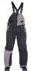 X80208 (Черный/Серый, XXL), Снегоходные штаны SQUARE.