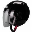 ZS210B, Открытый шлем ZS-210B черный глянец