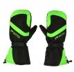 M01315 (Черный/Зелёный, S), Зимние рукавицы БОБЕР