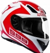 Мотошлем Marushin 999 RS Fundo White/Red