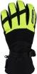 A07335 (Черный/Желтый, XS), Снегоходные перчатки Kapay, черный\желтый