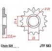 583.13, Звезда передняя (ведущая) JTF583 для мотоцикла, стальная