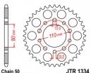 1334.40, Звезда задняя (ведомая) jtr1334 для мотоцикла стальная