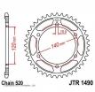 1490.45, Звезда задняя (ведомая) jtr1490 для мотоцикла стальная