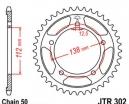 302.39, Звезда задняя (ведомая) jtr302 для мотоцикла стальная