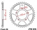 829.42, Звезда задняя (ведомая) jtr829 для мотоцикла стальная