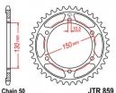 859.38, Звезда задняя (ведомая) jtr859 для мотоцикла стальная