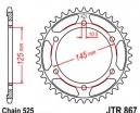 867.42, Звезда задняя (ведомая) jtr867 для мотоцикла стальная