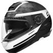 Шлем Schuberth C4 Pro Carbon Tempest Черный/Белый