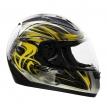 Шлем VEGA Altura Shuriken желтый/черн. глянцевый
