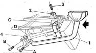 h0v89T, Крепление для верхнего кофра shad на honda vfr 800 fi - 99/01