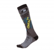 0356-743, Носки для мотокросса Pro Mx Sock Villian Серые