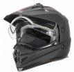 260-D20423, Снегоходный шлем с двойным стеклом DSE1 черный матовый, размер M, цвет черный матовый
