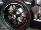 319-961, Наклейка на колесный диск GP-Style Триколор, цвет Разноцветный