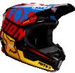 Fox Racing V1 Czar 2019 шлем кроссовый, черно-желтый