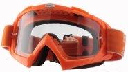 6024BL-104, Маска кроссовая b-flex launch оранжевая, цвет Оранжевый