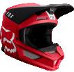Fox Racing V1 Mata 2019 шлем кроссовый, красно-черный
