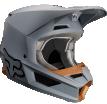 Fox Racing V1 Matte 2019 шлем кроссовый, серый