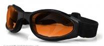 BCR003, Очки crossfire складные с янтарными линзами antifog