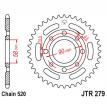 279.39, Звезда задняя (ведомая),(сталь) JT 279.39