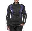 M01502 (Черный/Фиолетовый, XXS), Текстильная женская куртка Roxy фиолетовая